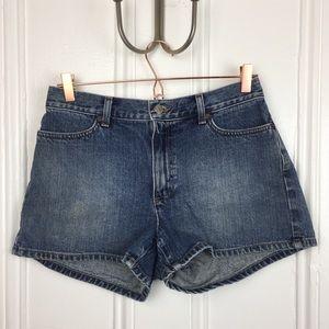 100% cotton vintage jCrew Jean high waisted shorts